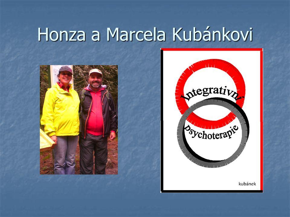 Honza a Marcela Kubánkovi