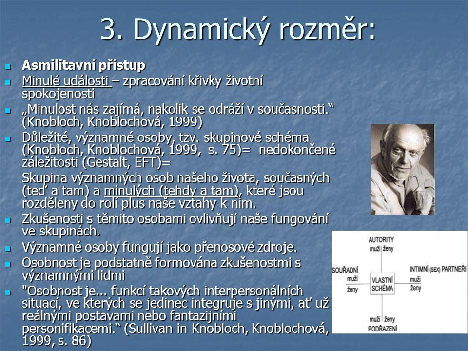 3. Dynamický rozměr: Asmilitavní přístup