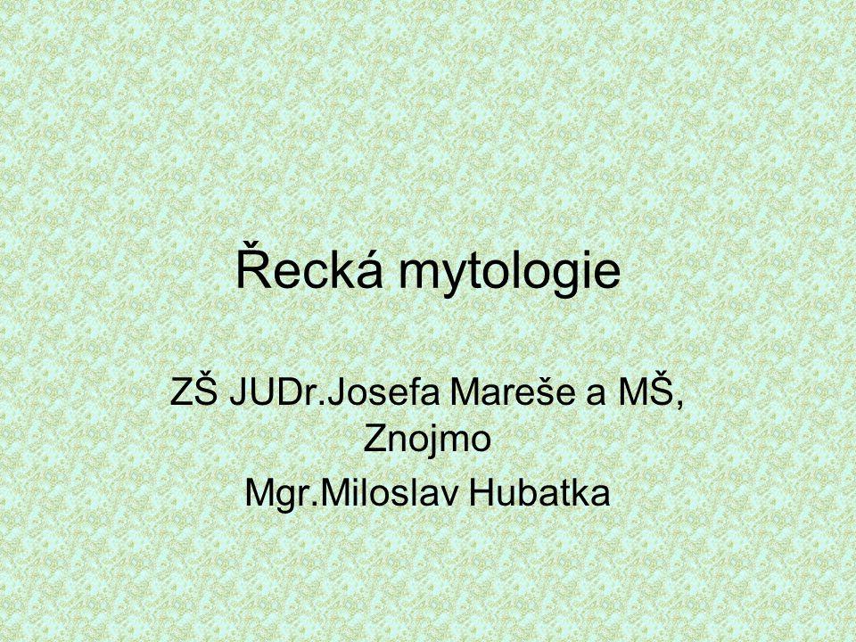 ZŠ JUDr.Josefa Mareše a MŠ, Znojmo Mgr.Miloslav Hubatka