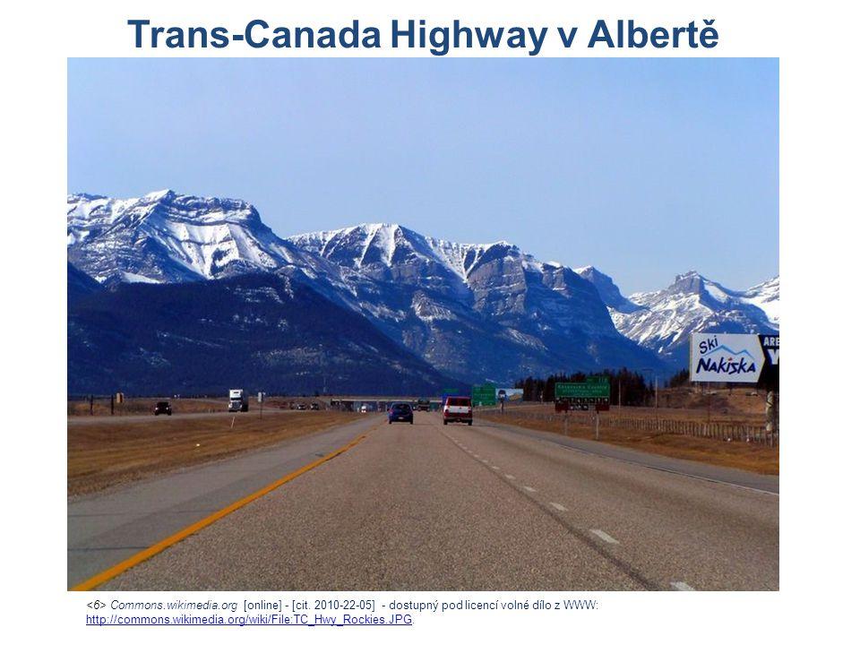 Trans-Canada Highway v Albertě