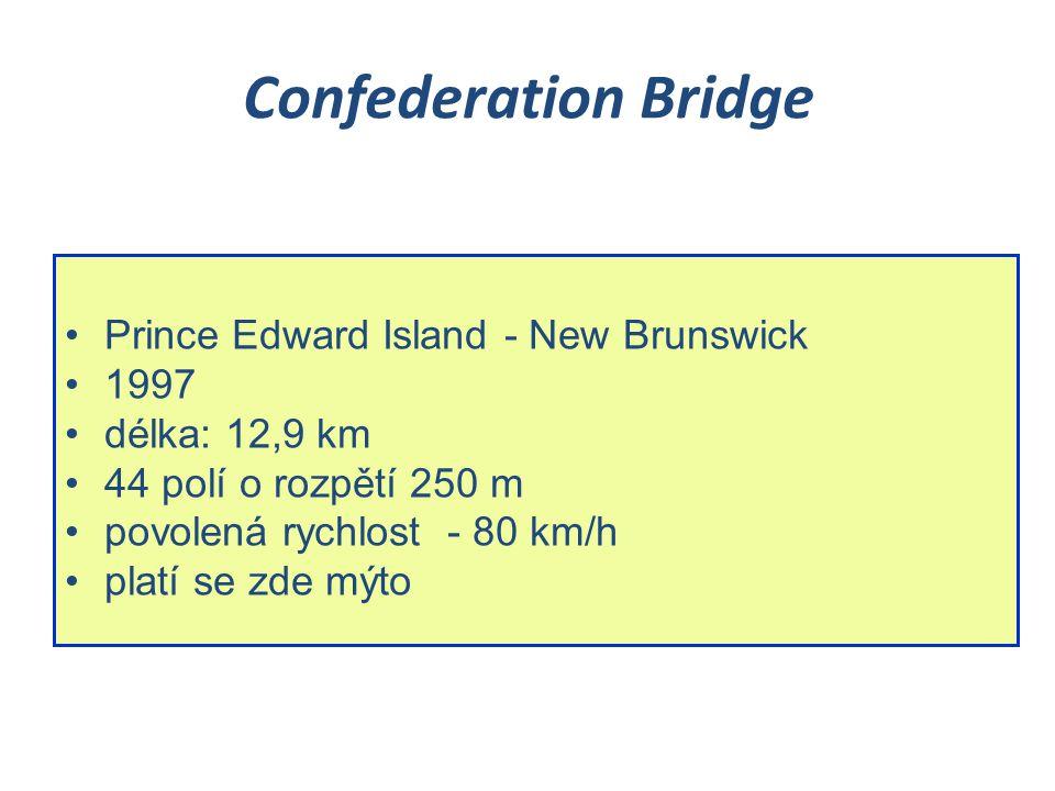 Confederation Bridge Prince Edward Island - New Brunswick 1997