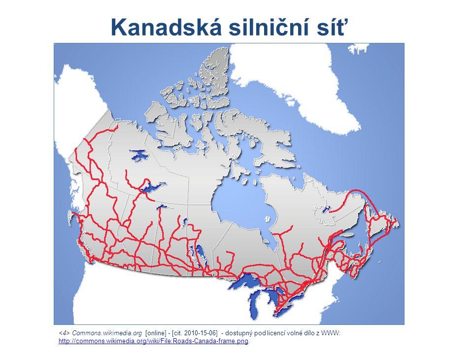 Kanadská silniční síť