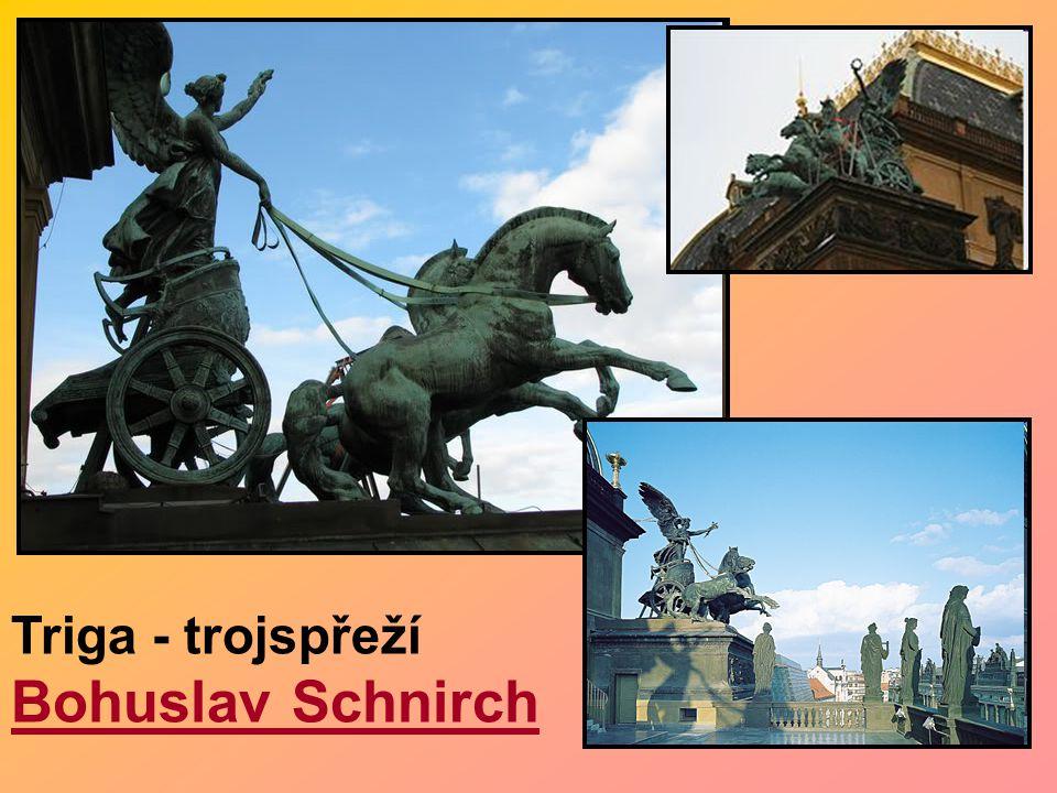 Triga - trojspřeží Bohuslav Schnirch