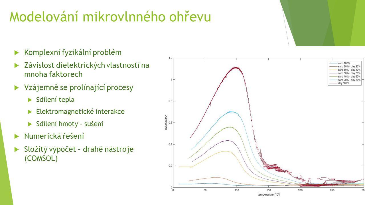 Modelování mikrovlnného ohřevu