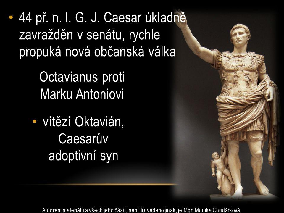 Octavianus proti Marku Antoniovi