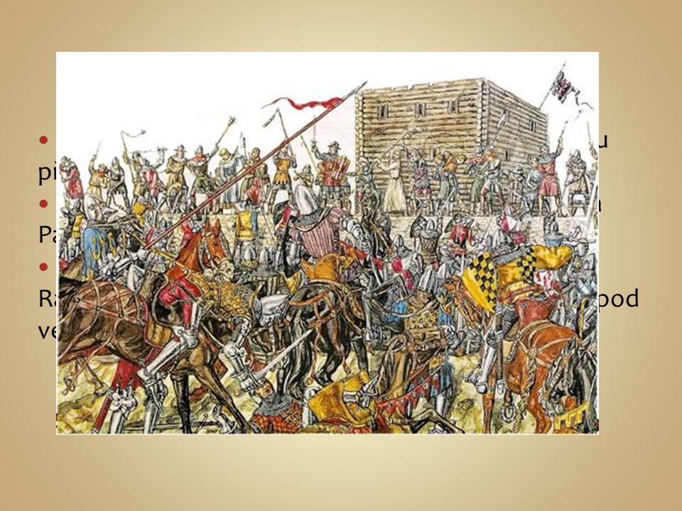 První bitva Právoplatný český král Zikmund nebyl pro většinu přijatelný a tak nemohl nastoupit na trůn.