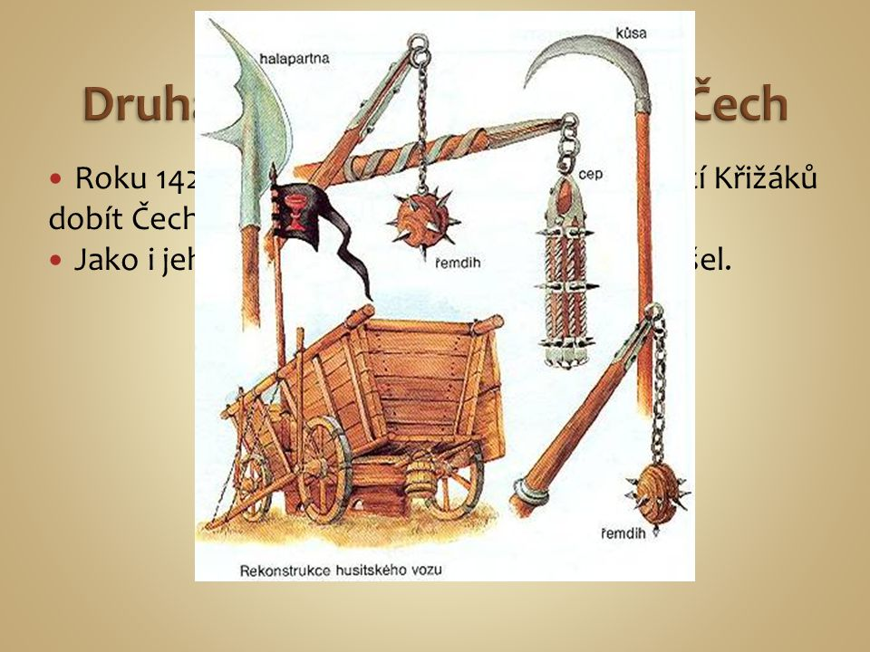Druhá Křižácká výprava do Čech