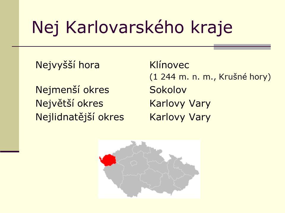 Nej Karlovarského kraje