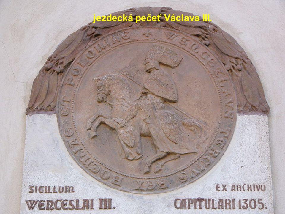 jezdecká pečeť Václava III.