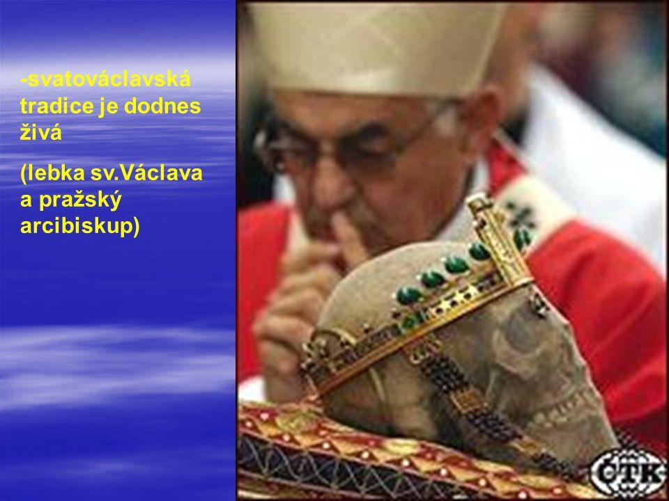 -svatováclavská tradice je dodnes živá