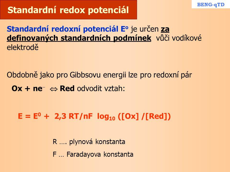 Standardní redox potenciál