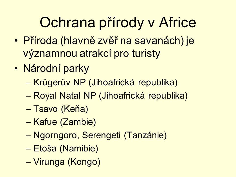 Ochrana přírody v Africe