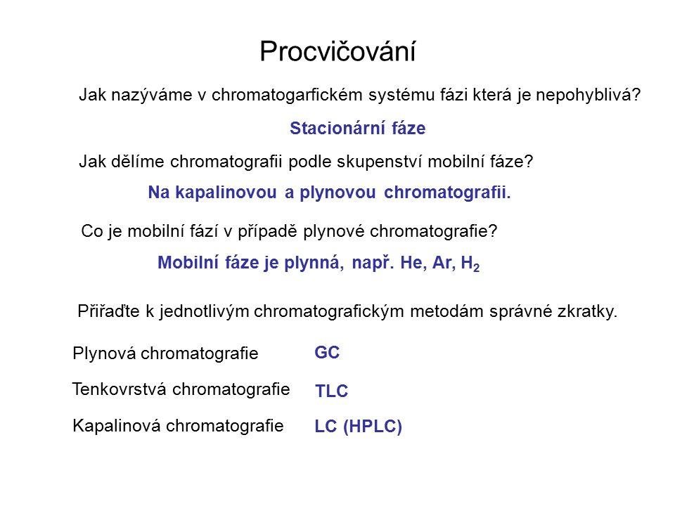 Na kapalinovou a plynovou chromatografii.