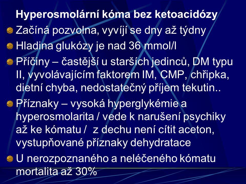 Hyperosmolární kóma bez ketoacidózy