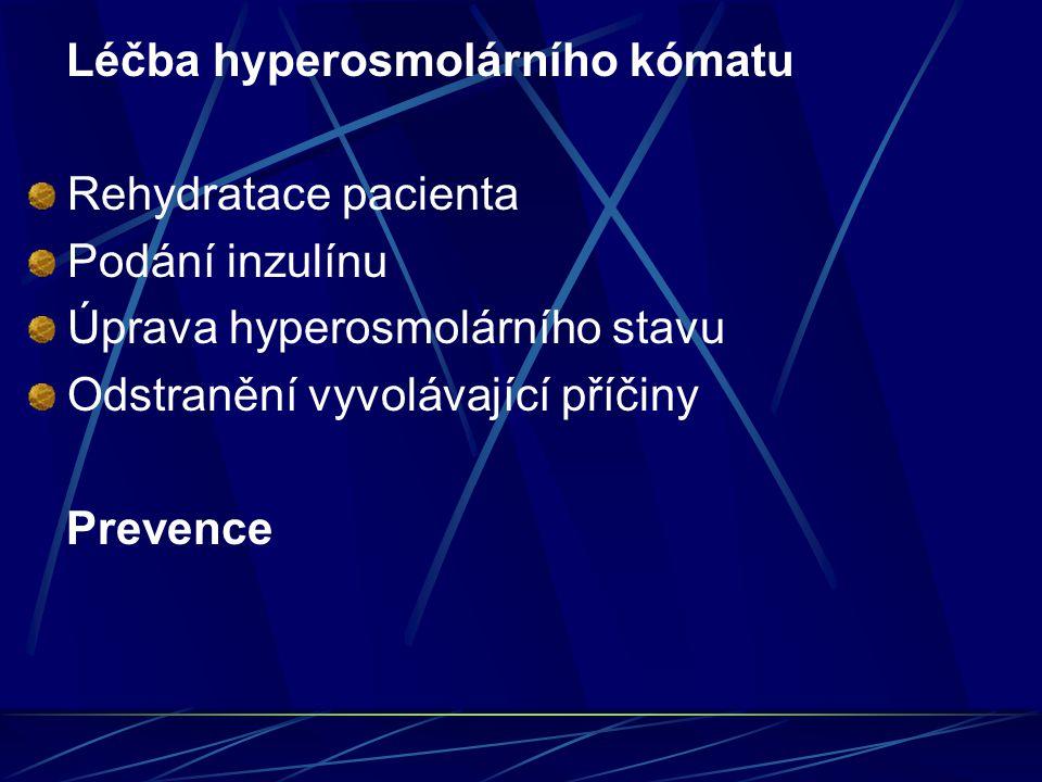 Léčba hyperosmolárního kómatu