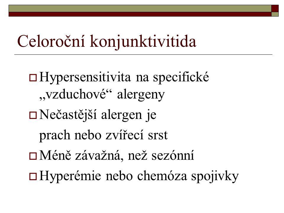 Celoroční konjunktivitida
