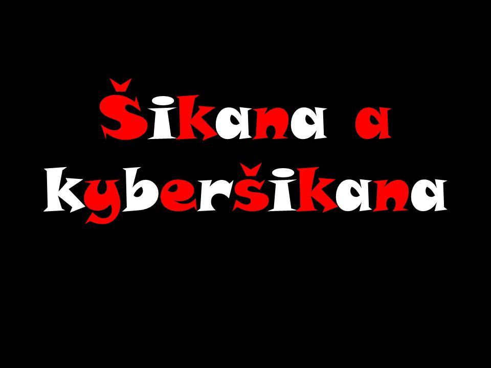 Šikana a kyberšikana