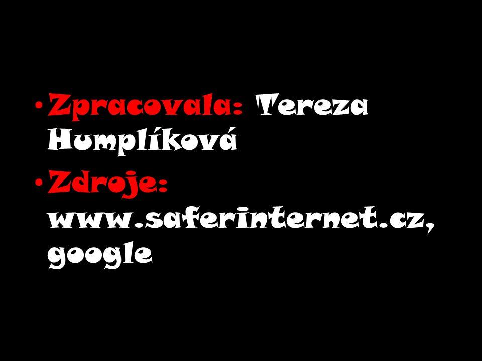 Zpracovala: Tereza Humplíková