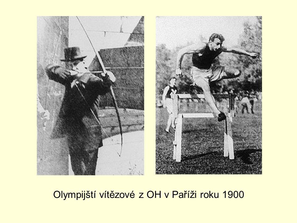 Olympijští vítězové z OH v Paříži roku 1900