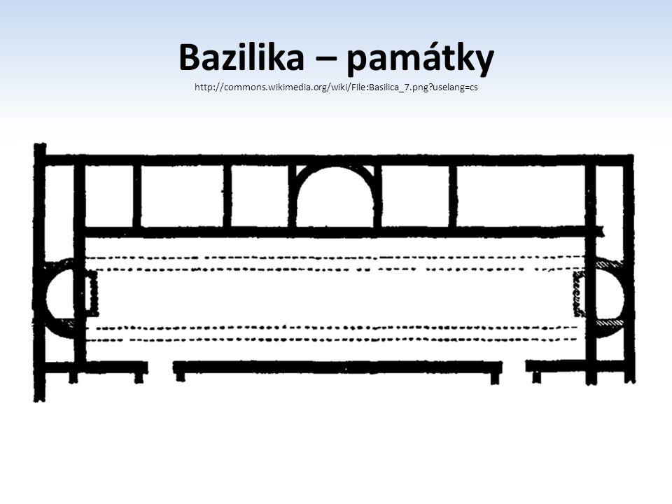 Bazilika – památky http://commons. wikimedia. org/wiki/File:Basilica_7