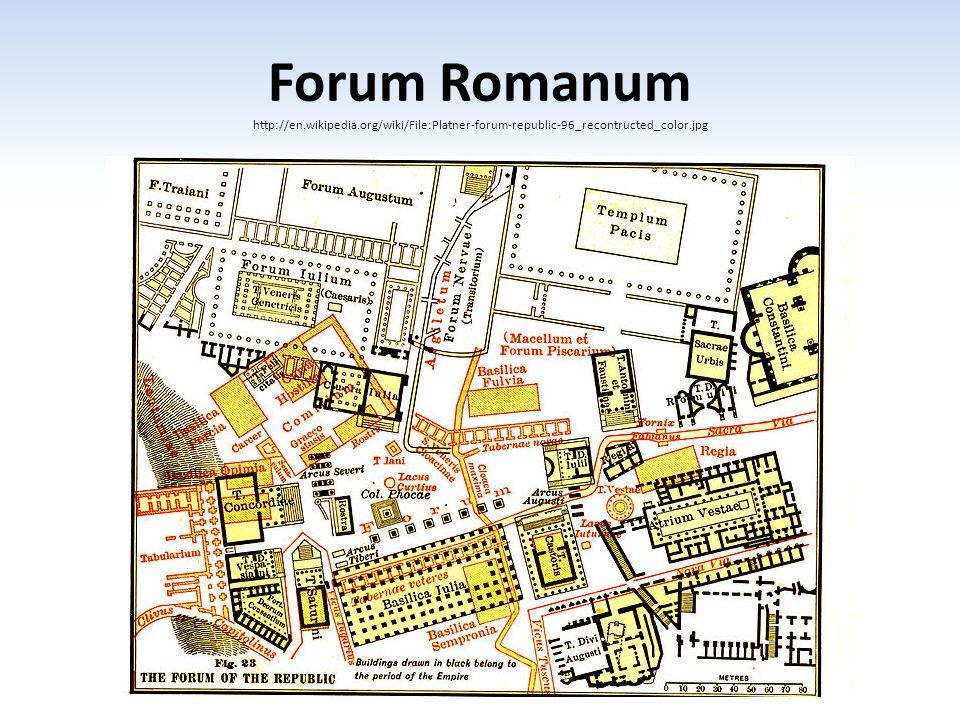 Forum Romanum http://en. wikipedia