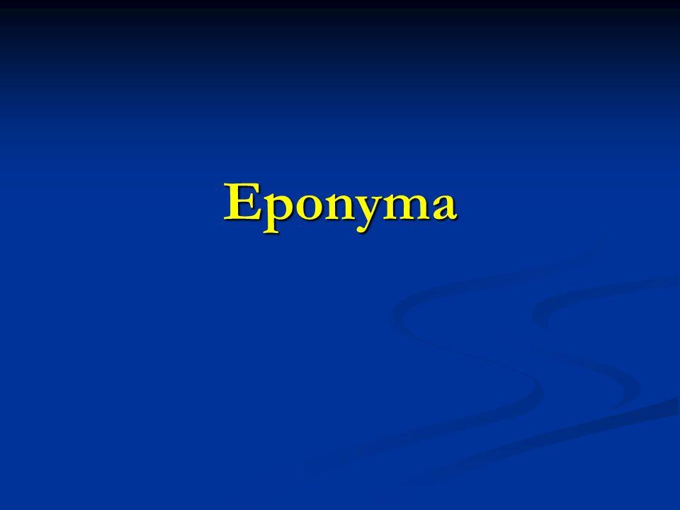 Eponyma