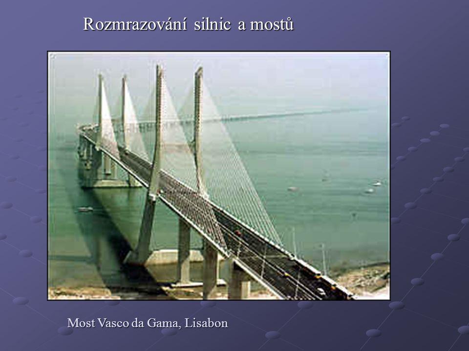 Rozmrazování silnic a mostů