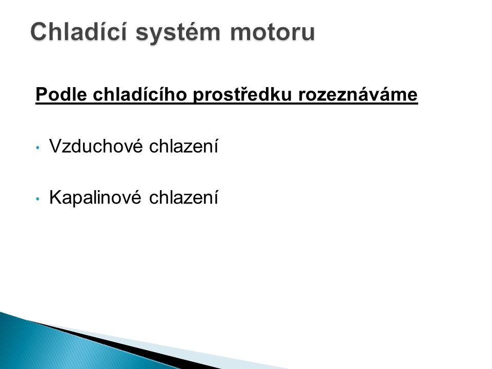 Chladící systém motoru