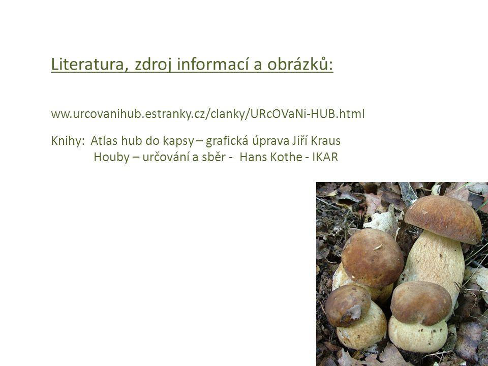 Literatura, zdroj informací a obrázků: