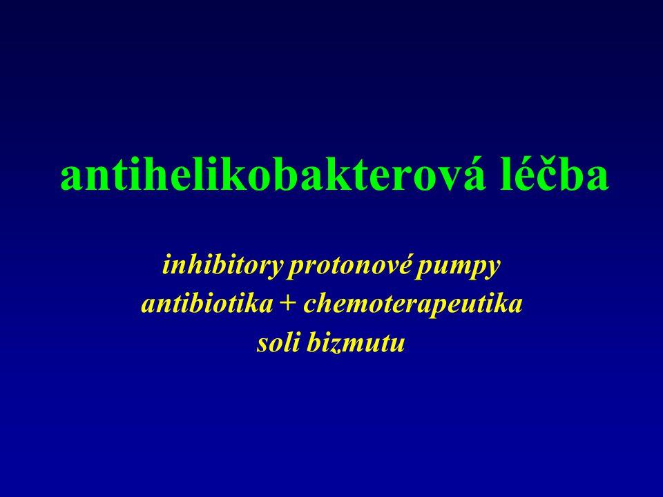 antihelikobakterová léčba