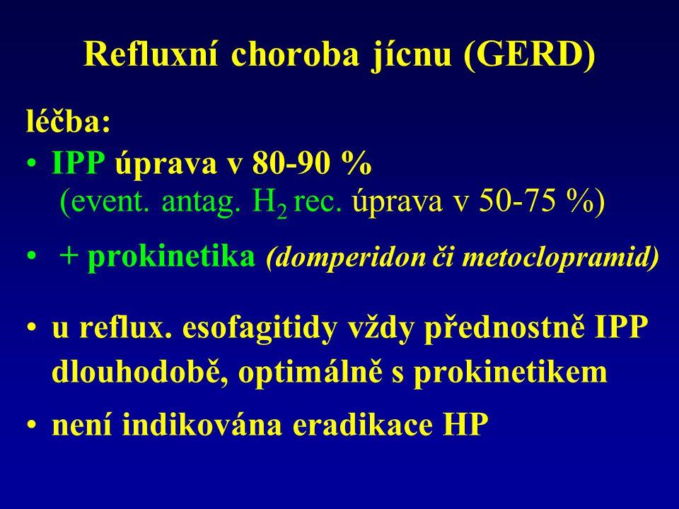 Refluxní choroba jícnu (GERD)