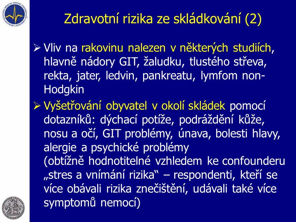 Zdravotní rizika ze skládkování (2)