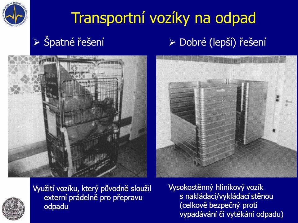 Transportní vozíky na odpad