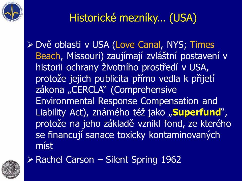 Historické mezníky… (USA)