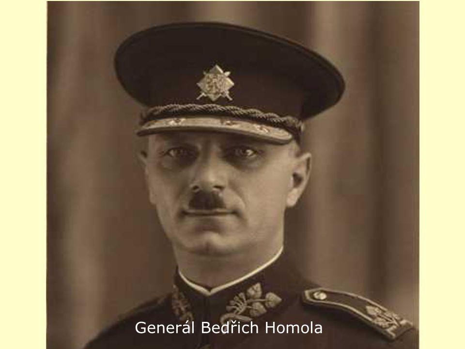a Generál Bedřich Homola Gen. Bedřich Homola