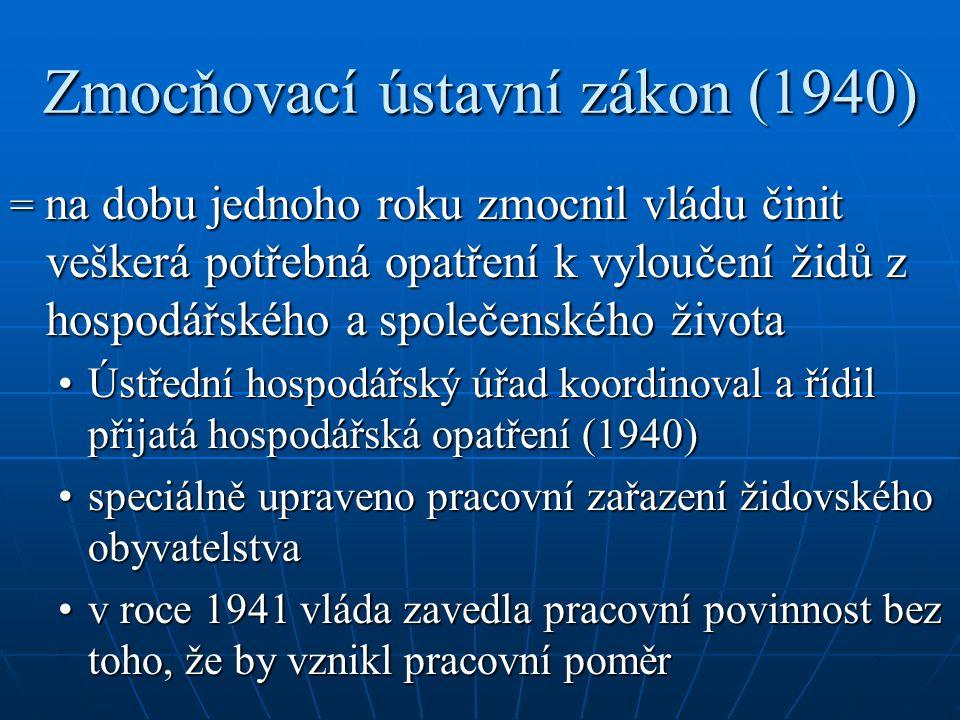 Zmocňovací ústavní zákon (1940)