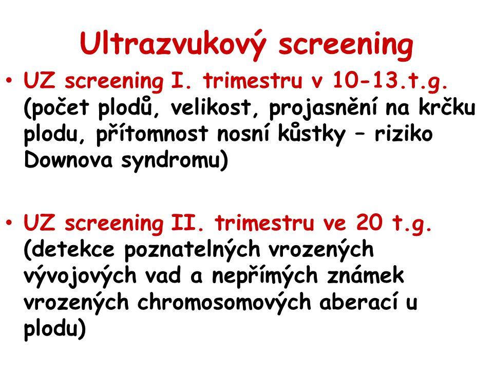 Ultrazvukový screening