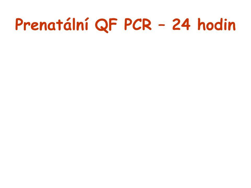 Prenatální QF PCR – 24 hodin