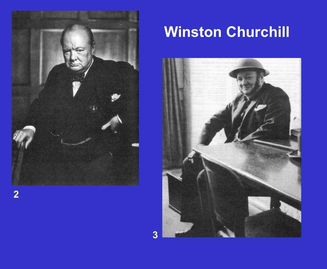 Winston Churchill 2 3