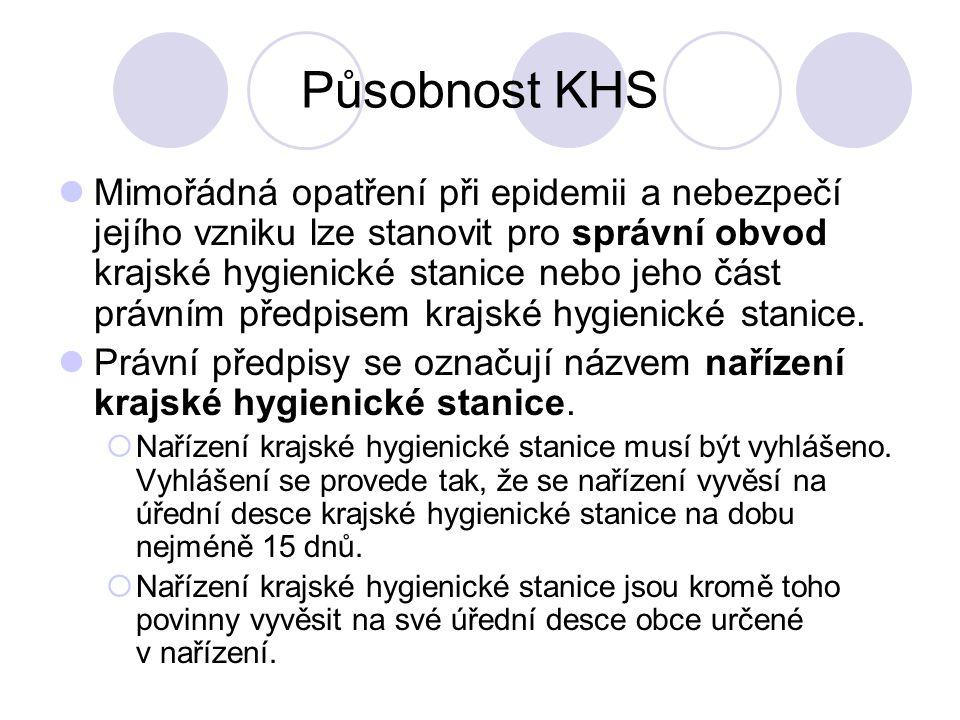 Působnost KHS