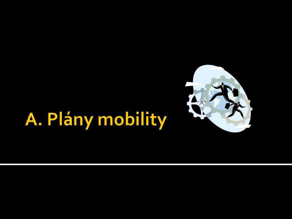 A. Plány mobility