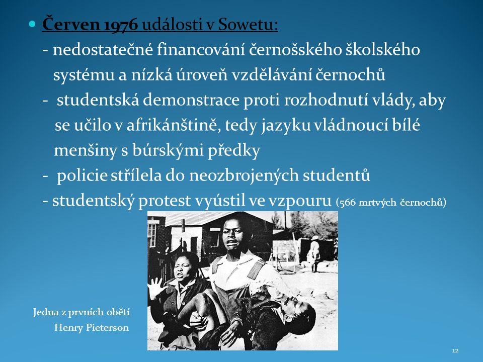 Červen 1976 události v Sowetu: