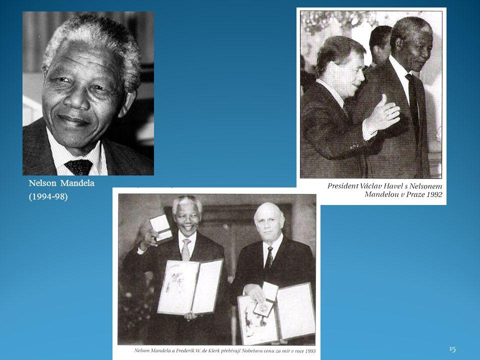 Nelson Mandela (1994-98)