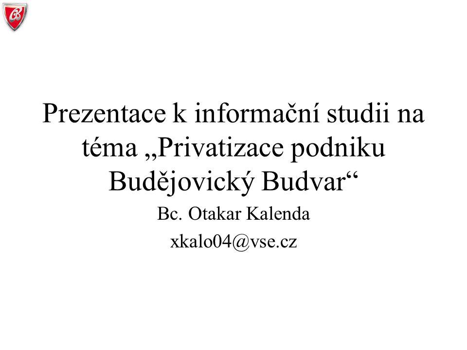 Bc. Otakar Kalenda xkalo04@vse.cz