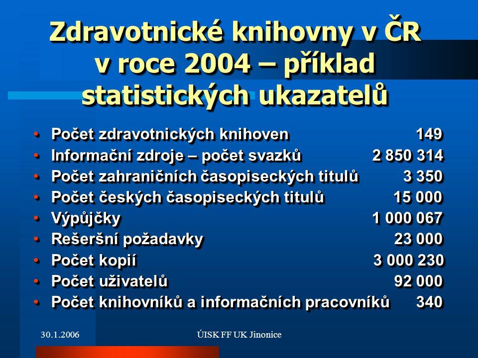 Zdravotnické knihovny v ČR