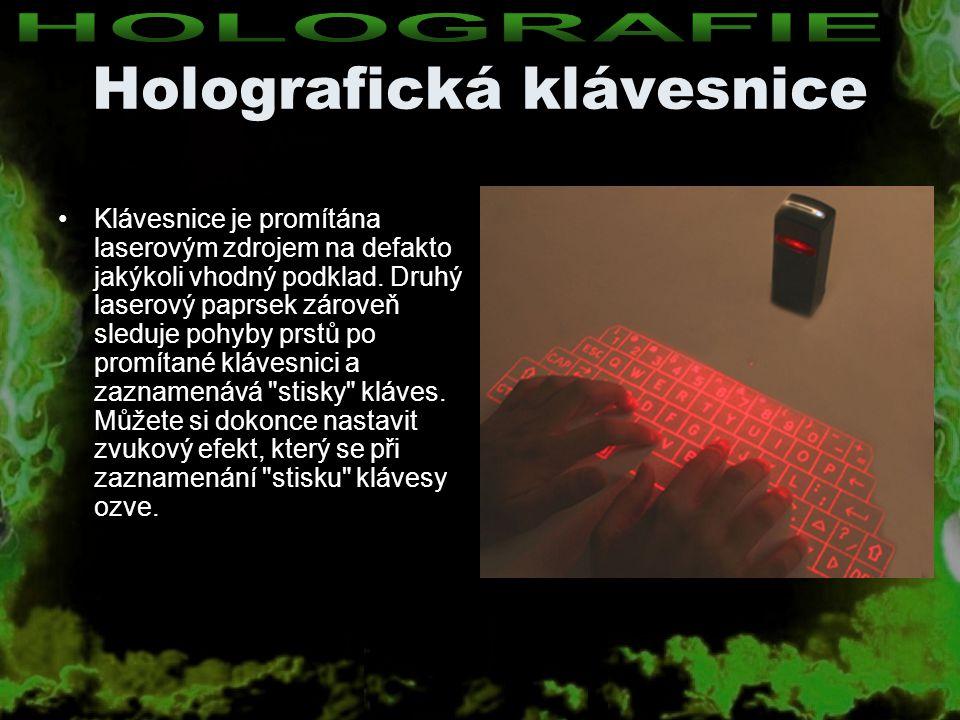 Holografická klávesnice