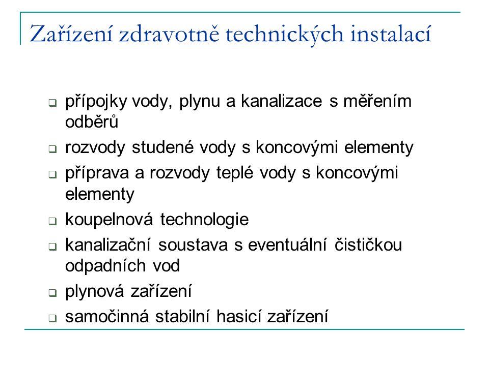 Zařízení zdravotně technických instalací