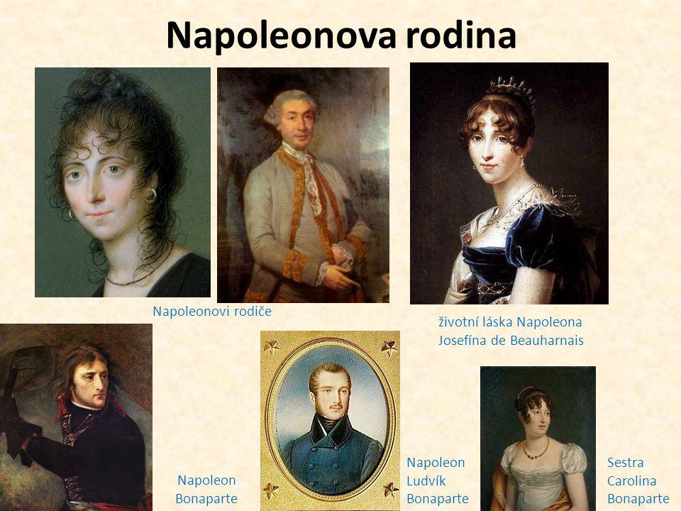 Napoleonova rodina Napoleonovi rodiče