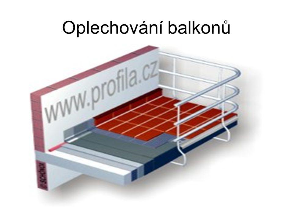 Oplechování balkonů