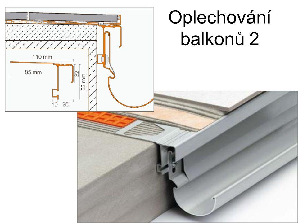Oplechování balkonů 2